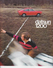 1200 Coupe brochure, 4 pages, Dutch language, about 1974