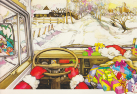 Greetings postcard, DIN A6-size, Italian issue, 1983