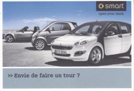 Program postcard, 16x11 cm, fold-card, 03/2006, French language