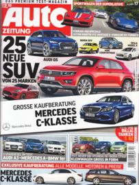 Auto Zeitung, 112 pages, 30.7.2014, German language
