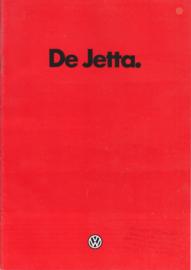 Jetta brochure, 24 pages,  A4-size, Dutch language, 8/1981 (Belgium)