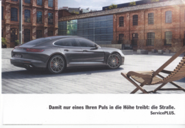 Panamera ServicePLUS brochure, 6 pages, 01/2017, German