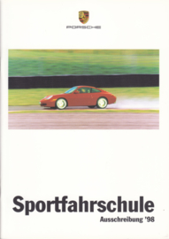Sportfahrschule brochure, 52 pages, 03/1998, German language