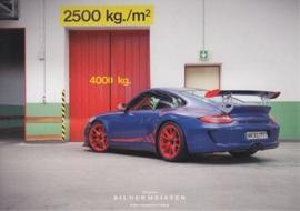 911 GT3 RS, continental size postcard, Bildermeister, 07/2013