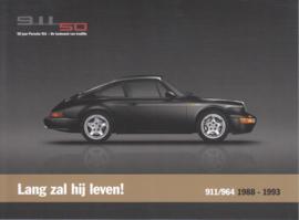 911 (964) 1988-1993, A5-size postcard, 2013, Dutch