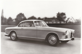 503 V8 Coupé, DIN A6-size photo postcard, 1955-60, 4 languages