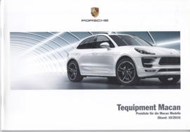 Macan Tequipment pricelist, 52 pages, 10/2014, German