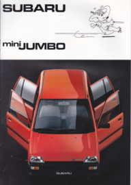 Mini Jumbo brochure, 12 pages, Dutch language, 1989, Belgium