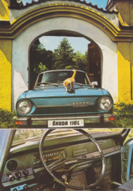 110 L, A6-size postcard, factory-issued, about 1969