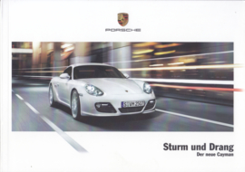 Cayman brochure, 40 pages, 10/2008, German