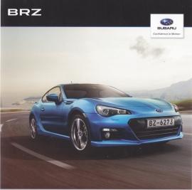 BRZ brochure, 24 pages + specs. + colours, Swedish language, 2012