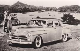 Plymouth 4-Door DeLuxe 1950, Spanjersberg, Car museum Driebergen, date 363, # 58