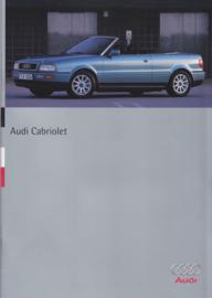 Cabriolet brochure, 38 pages, 3/1995, German language