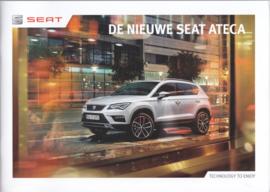 Ateca brochure, 64 pages, 09/2016, Dutch language