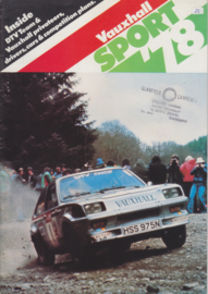 Vauxhall Sport Guide, 24 pages, English language, 1978