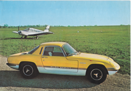 Elan Sprint leaflet, 2 pages, factory-issued, c1972, English language