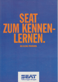 Program brochure, 8 pages, 10/1994, A4-size, German language