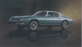 Camaro Type LT Coupe,  US postcard, standard size, 1977