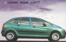 Citroën Xsara Picasso, sticker, 15 x 10 cm