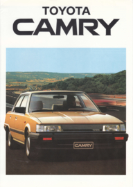 Camry Sedan/Liftback brochure, 4 pages, 1985, Dutch language
