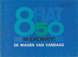850/850 Idromatic, 16 pages, 1/1967, Dutch language