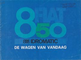 850/850 Idromatic, 16 pages, 1/1967, Dutch language