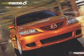 6 Sports Sedan 5-Door, 2004, US postcard, A5-size