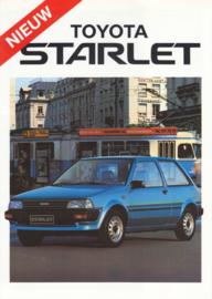 Starlet brochure, 4 pages, 1985, Dutch language