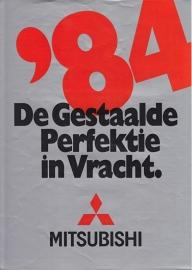 Commercials brochure, 8 pages, 1984, Dutch language