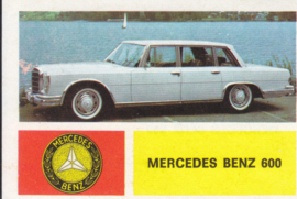 Mercedes-Benz 600 Sedan, 4 languages, # 117