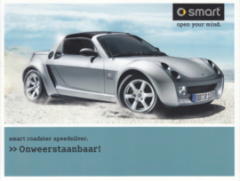 Roadster Speedsilver brochure,  4 pages, 04/2004, Dutch language