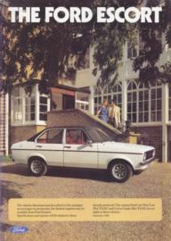 Escort II brochure UK, 16 pages, 09/1980, English language