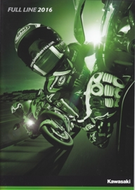 Kawasaki range brochure, 28 pages, 2016, English language