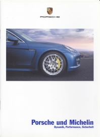 Michelin tyres for Porsche brochure, 16 pages, 08/2009, German language