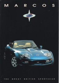 Mantara V8 Spyder & Coupé, 8 page glossy brochure, about 1995, English language