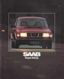 99 GL range brochure, 32 pages, 1979, Dutch language