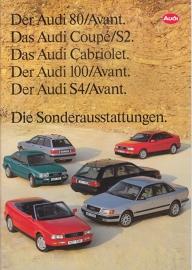 Program accessories 1993 brochure, 44 pages, 01/1993, German language