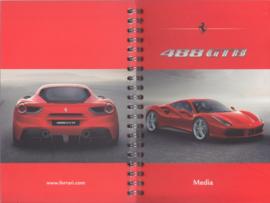 488 GTB Media booklet, spiral bound, English language, 2015