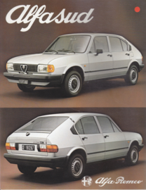 Alfasud brochure, 8 pages, 1/1981,  # 1171, Dutch language