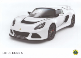 Exige S, 2 page leaflet, DIN A4-size, factory-issued, English language
