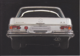 Mercedes-Benz 300 SEL 6.3 1972, Classic Car(d) of the month 8/2003, Germany