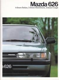 626 brochure, 28 pages, 04/1988, Dutch language