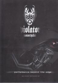 Violator Maximus leaflet, 2 pages, 2004, Dutch language