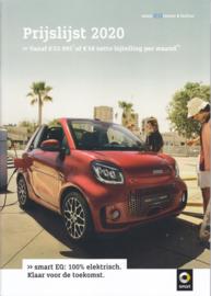 EQ model range brochure,  14 pages, 2020, Dutch language
