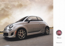 500 Turbo, US-issued  picture card, size 17,5 x 12,5 cm, 2012