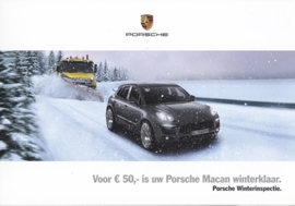 Macan winter inspection folder, 4 pages, 2014/2015, Dutch