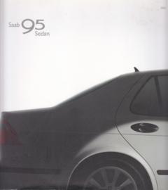 9-5 Sedan brochure, 52 pages, 06/2002, Dutch language, # 616367