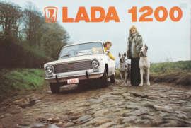 1200 Sedan brochure, 6 pages, about 1975, Dutch language