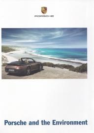 Porsche & Environment, 36 pages, 10/2007, English language