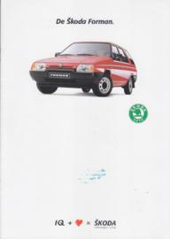 Forman Stationwagon brochure, 18 pages, Dutch language, 1989